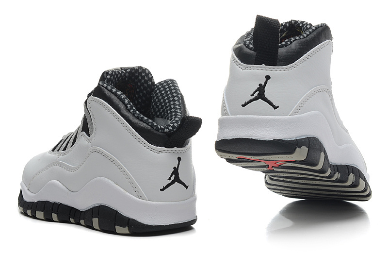 new products 20b35 e3d8b Best Air Jordan 10  Steel  White And Black-Light Steel Grey Red