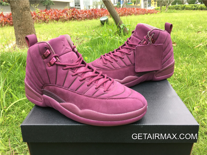 online store ff959 15717 For Sale PSNY X Air Jordan 12  Bordeaux