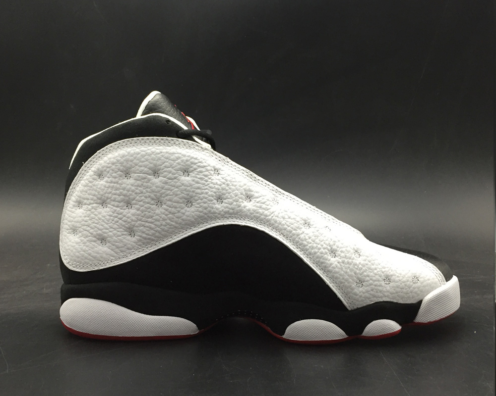 52bc4a4b6dcec6 New Year Deals Air Jordan 13  He Got Game  White Black-True Red ...