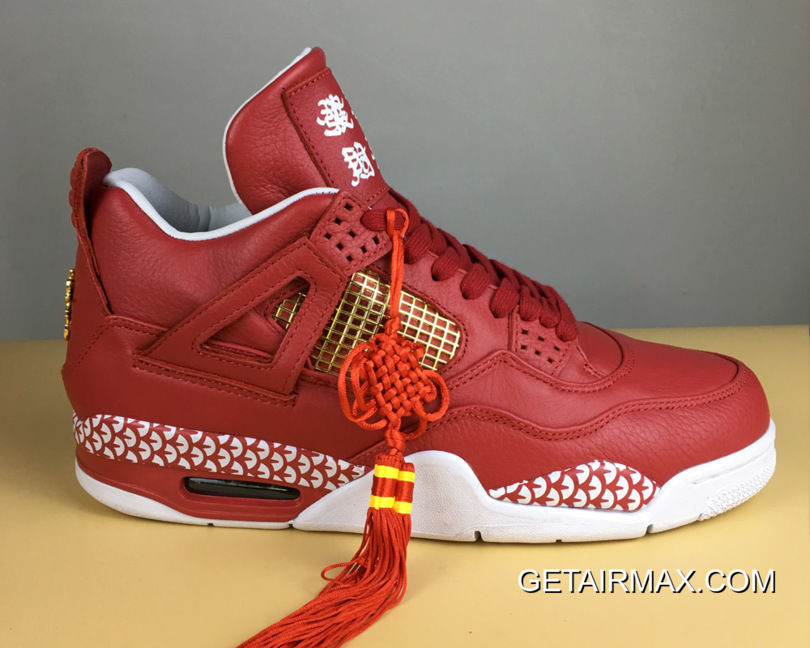 "e4dfd033b03f Remade X 400ml Air Jordan 4 ""Chinese New Year"" Custom Discount ..."
