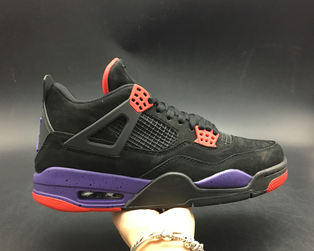 brand new 731c8 fc302 For Sale Air Jordan 4 NRG  Raptors  Black University Red-Court Purple