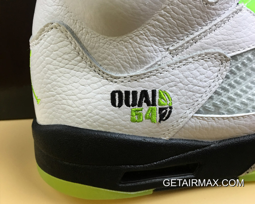 "huge selection of a687d 5b9bc For Sale Air Jordan 5 Retro ""Quai 54"" White Black-Metallic Radiant"