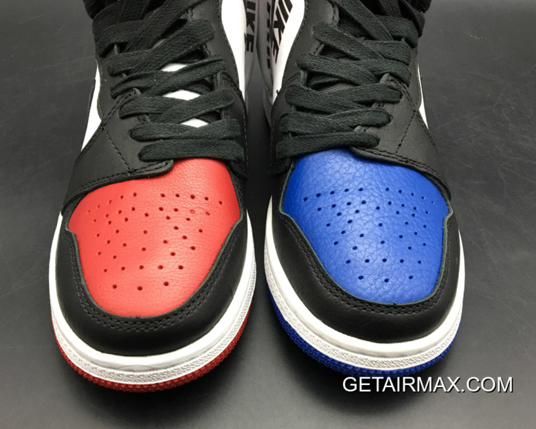 3706a3cf7cad Air Jordan 1 Rebel  Top 3  White Black-Varsity Red-Varsity Royal ...