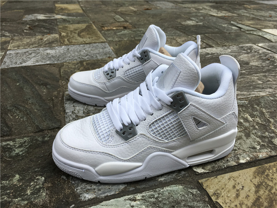 finest selection 253a7 01933 New Air Jordan 4 Pure Money 308497-100 Online