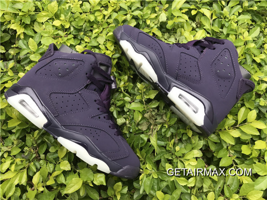 ed4494d47171 Air Jordan 6 GS Purple Dynasty And White For Sale