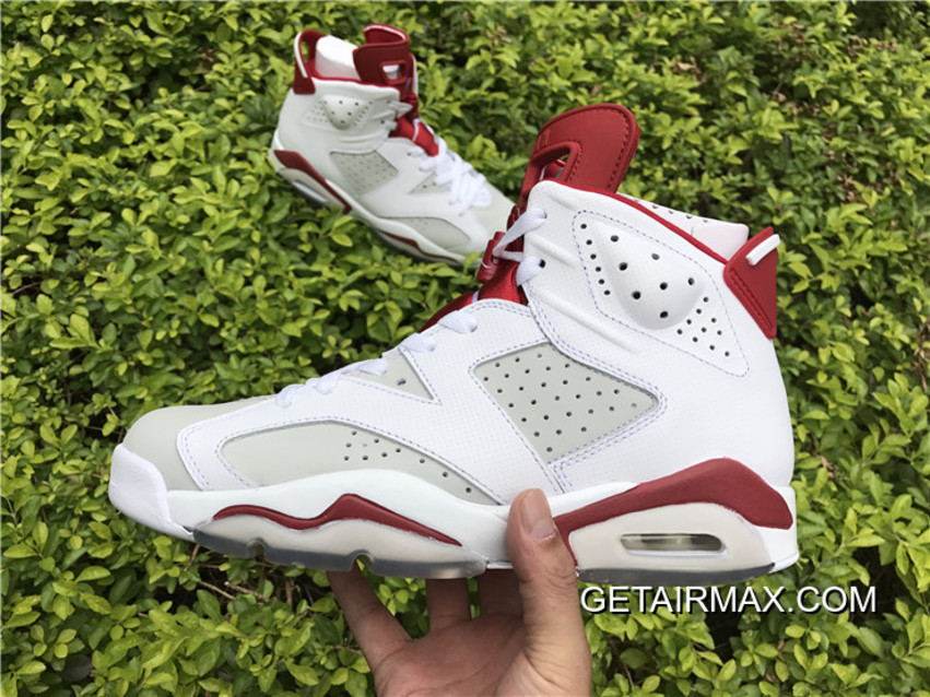 info for 7f82d b8d65 Copuon Air Jordan 6  Hare  White And Pure Platinum-Gym Red