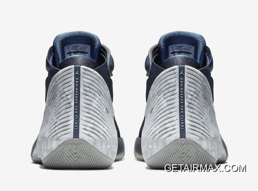 "wholesale dealer d0efa 68330 Jordan Why Not Zer0.1 ""Georgetown"" College Navy Pewter Grey Outlet"