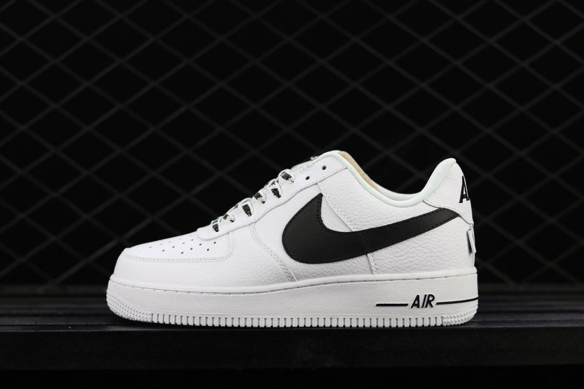 """Outlet Nike Air Force 1 Low """"Statement Game"""" WhiteBlack"""