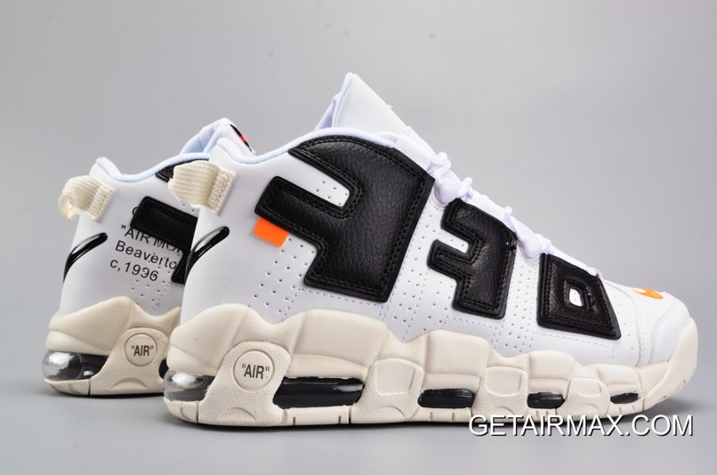 67758489fc OFF-WHITE X Nike Air More Uptempo Black And White New Release, Price ...