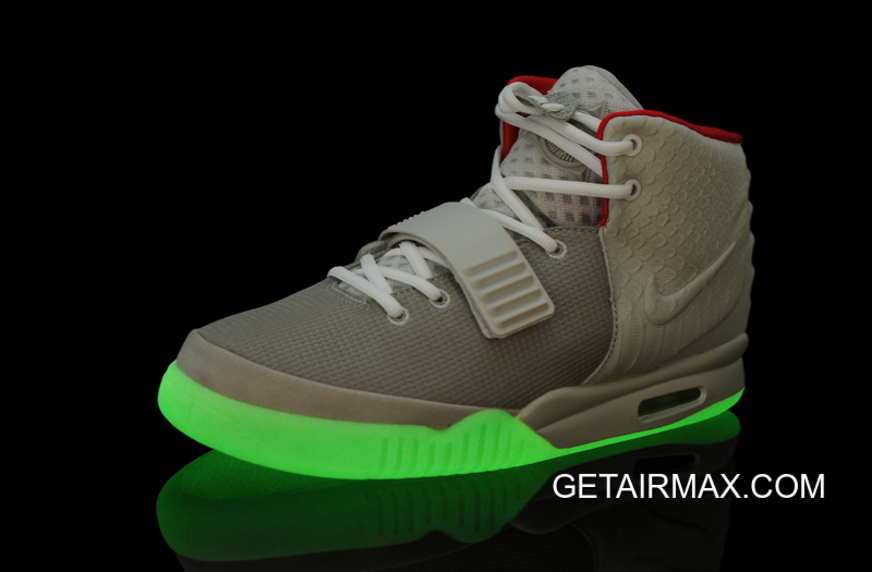 4a312448d9074a New Year Deals Glow In The Dark Nike Air Yeezy 2  Wolf Grey Pure ...