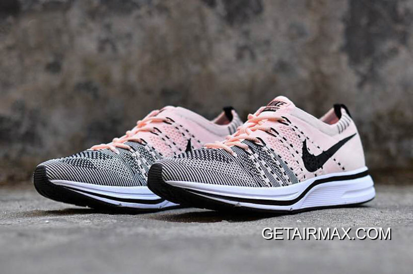 272b50c17d44 Nike Flyknit Trainer Sunset Tint And Black-White Top Deals