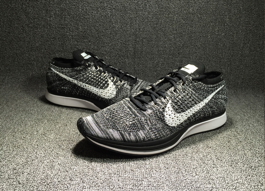84639a39883ec Nike Flyknit Racer  Oreo 2.0  Black White New Year Deals
