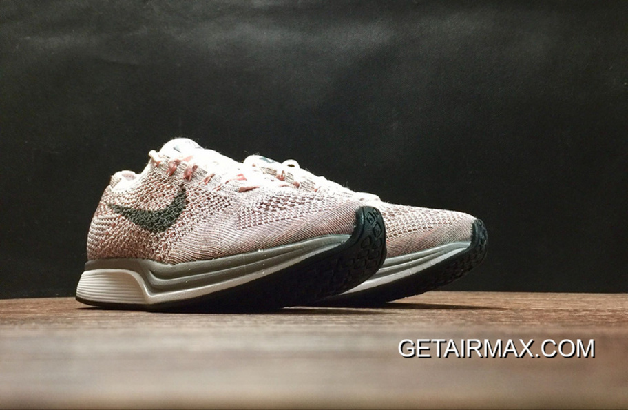 07b39554c30e Nike Flyknit Racer  Strawberry  Pearl Pink And Cool Grey Latest ...