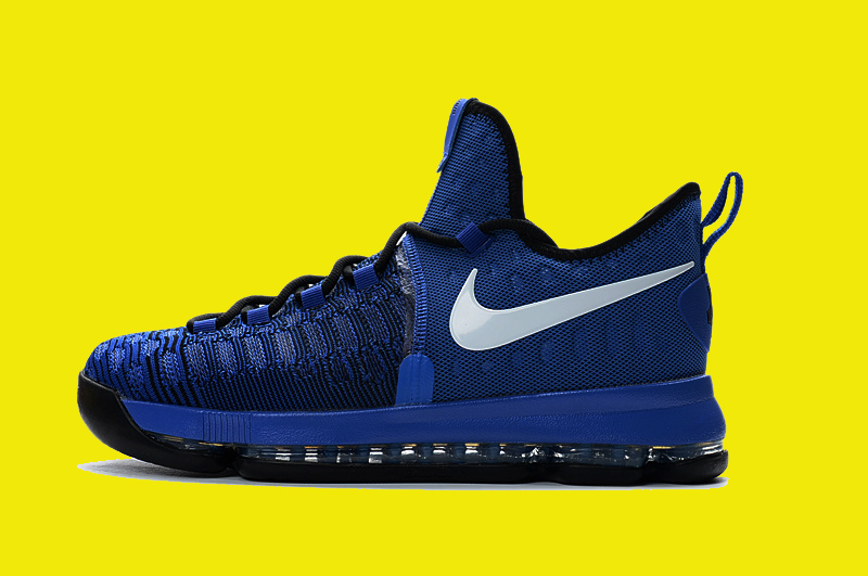49f4d547156c Nike KD 9  On-Court  Game Royal Black-White 855908-410 Discount ...