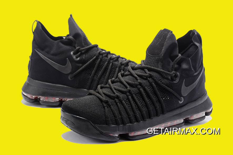 sports shoes aceb5 f37d4 Discount Nike KD 9 'Black Space' 843392-001