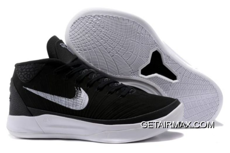57dcc13d4a0 Nike Kobe AD Mid TB Black And White New Release