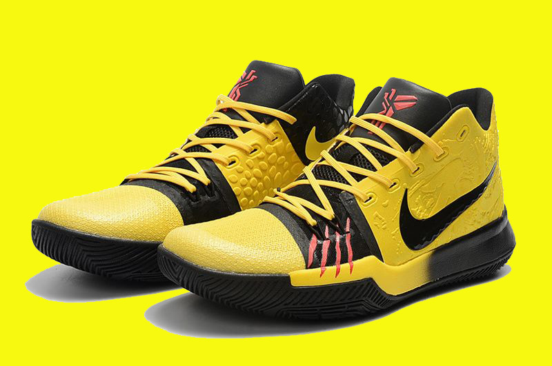 981d50c92a31 Nike Kyrie 3  Mamba Mentality  Tour Yellow And Black New Release ...