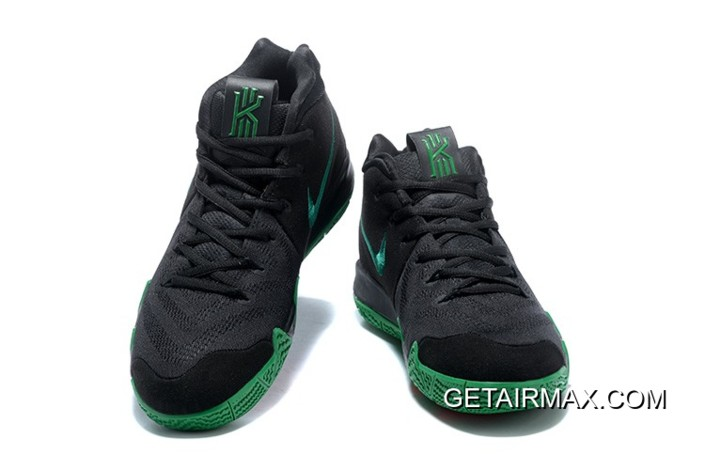 timeless design a5649 8440e Latest Nike Kyrie 4 Black Green Red