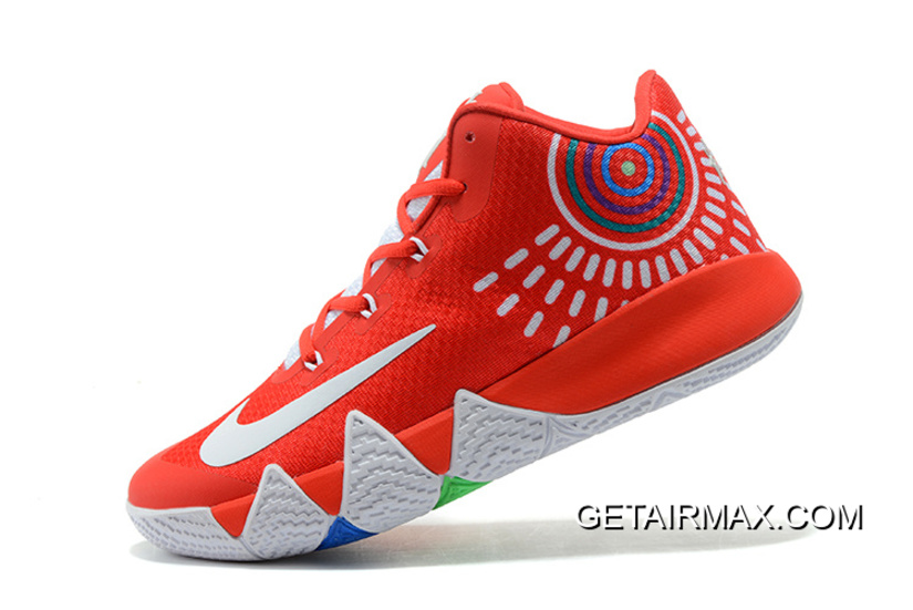 e1c80400bae Nike Kyrie 4 Red White Outlet