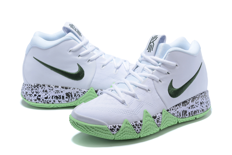 huge selection of 27426 7eb96 Nike Kyrie 4 White Glow In The Dark Discount
