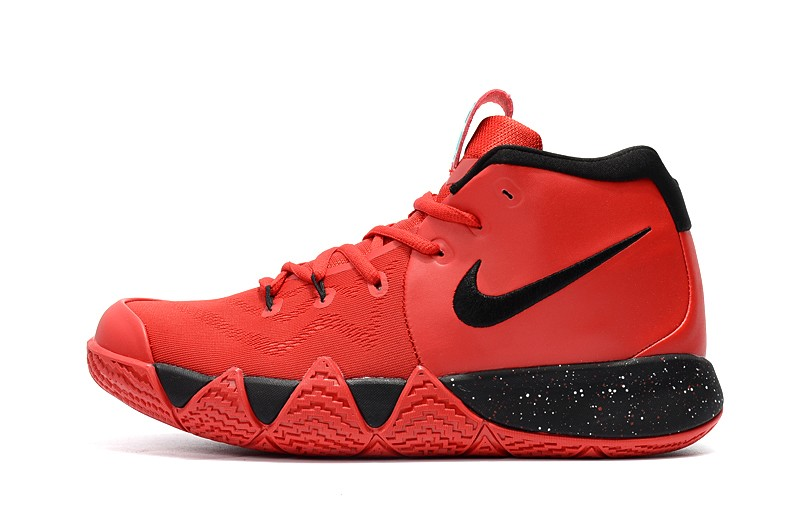 5f67c5687432 Nike Kyrie 4 University Red Black Outlet