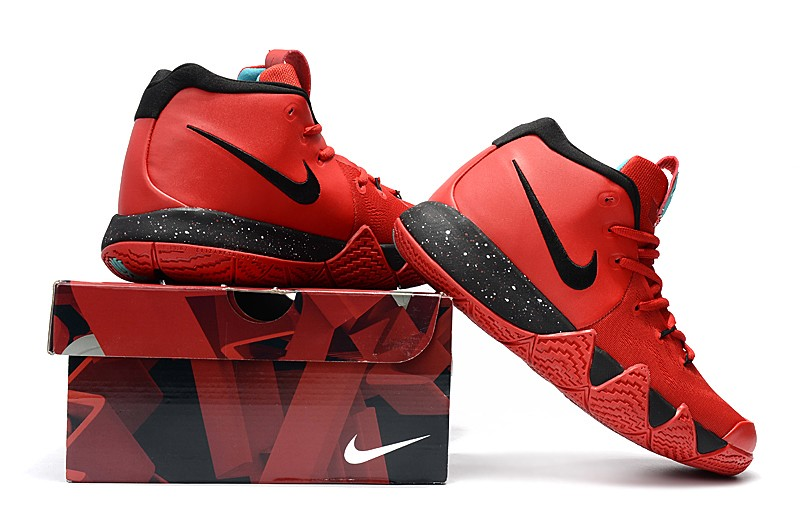size 40 674a9 0e144 Nike Kyrie 4 University Red/Black Outlet
