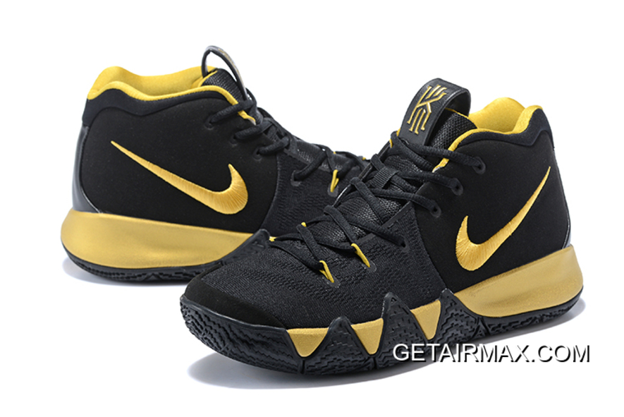 sports shoes bec01 65158 New Release Nike Kyrie 4 Black Gold, Price: $75.04 - Air max Shoes ...