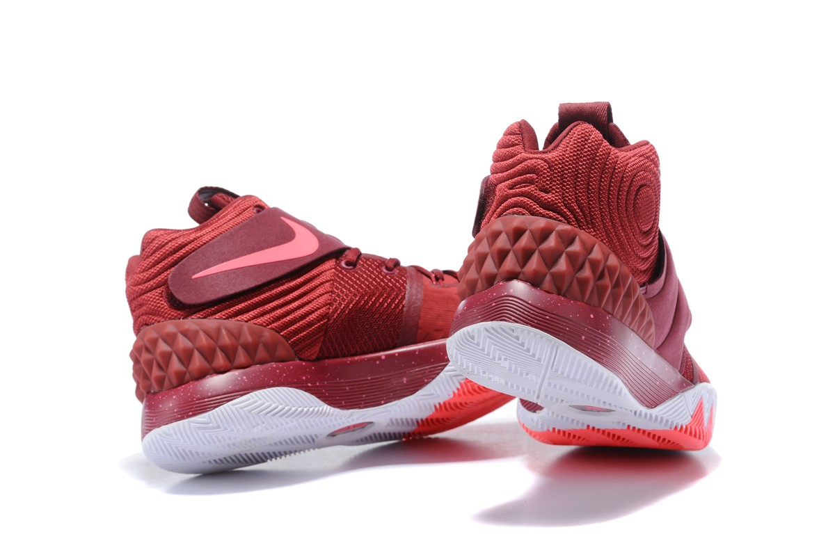 official photos b015e 0a158 Best Nike Kyrie S1 Hybrid Burgundy-White And Red