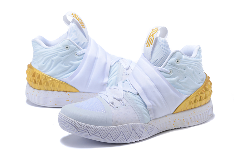 5e955fb6b59 Free Shipping Nike Kyrie S1 Hybrid White And Gold