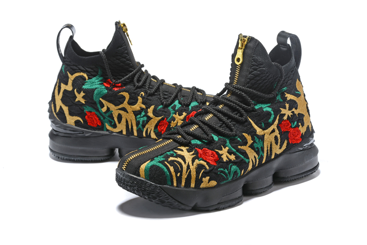 eb94ef0b46c New Style Kith X Nike LeBron 15  Long Live The King  Black And Gold ...