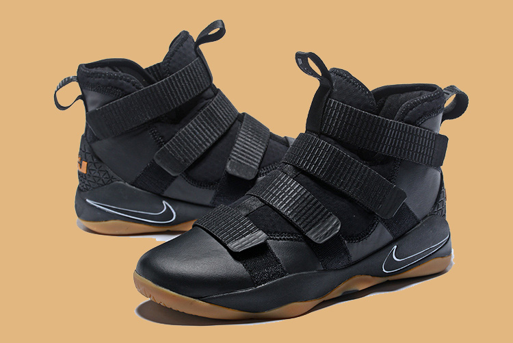 the best attitude 4f94e 79900 Nike LeBron Soldier 11 Black Gum Latest
