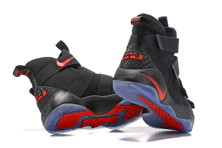 a3305d5b284 Nike LeBron Soldier 11 Black And Red Super Deals
