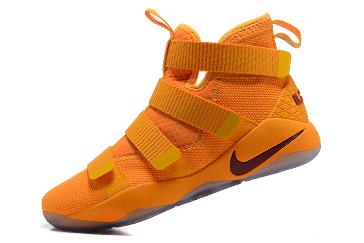 b7e09076299 Super Deals Nike LeBron Soldier 11 Yellow Wine Red