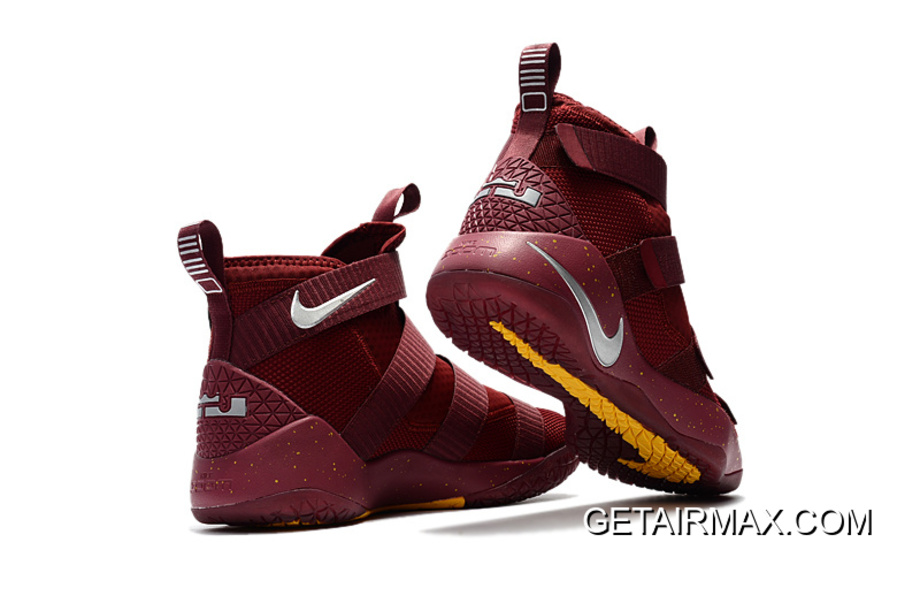 737eb18d7bb14 Nike LeBron Soldier 11 PE  Cavs  Red White Latest