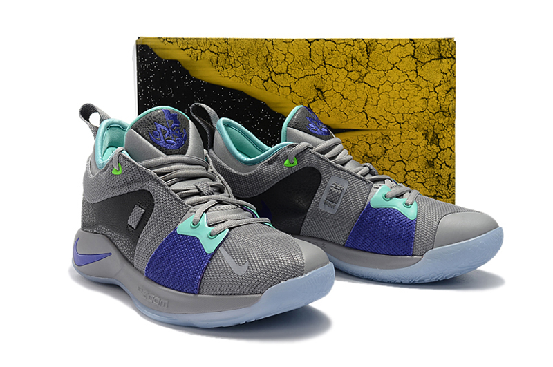 best website 3a2ce 56608 Discount Nike PG 2 Pure Platinum Neo Turquoise