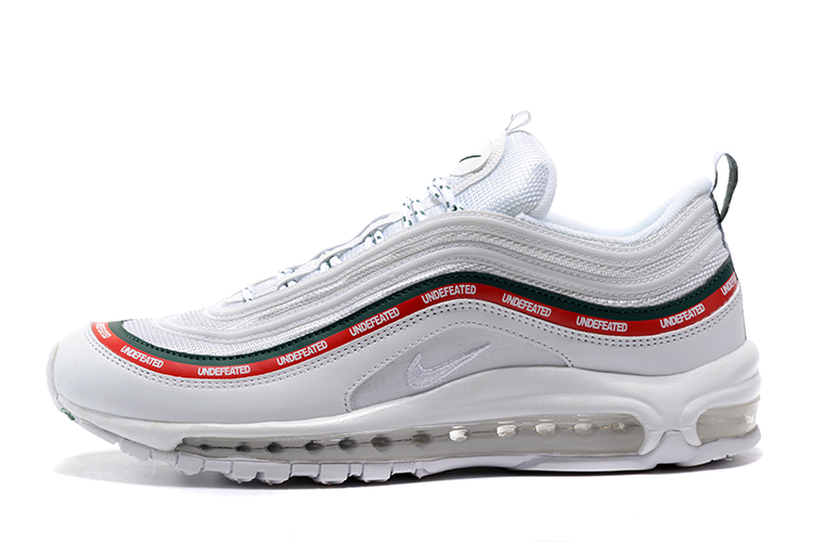 Free Shipping Undefeated X Nike Air Max 97 OG Sail And White-Gorge Green- 9c34e7640