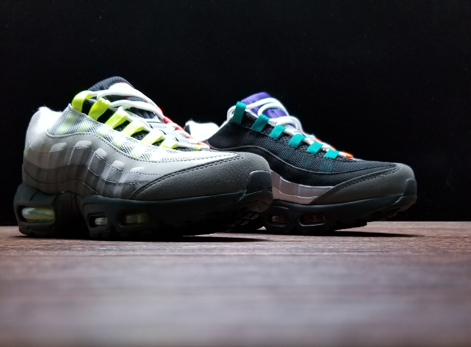 classic fit dd58f 36f58 Nike Air Max 95 'Greedy' Black/Safety Orange/Volt Outlet