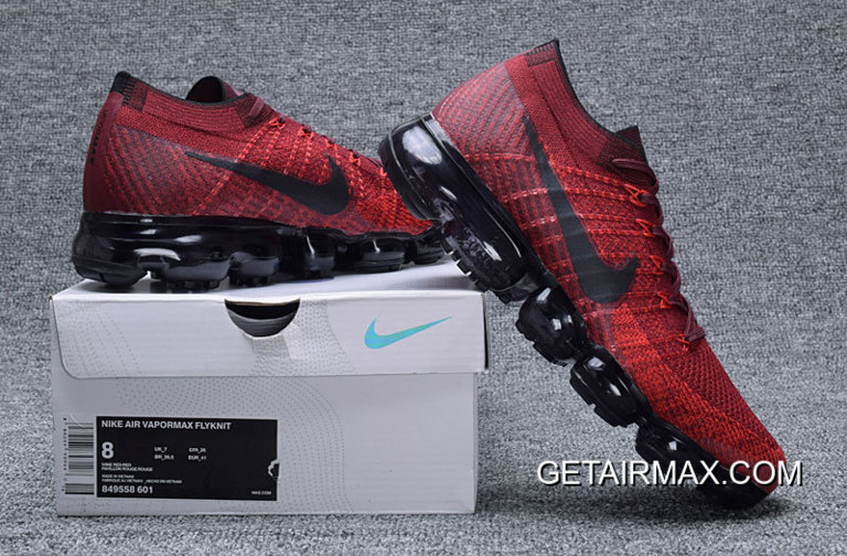 bf55ad0d7ea For Sale Nike Air VaporMax Dark Team Red And Black-University Red ...