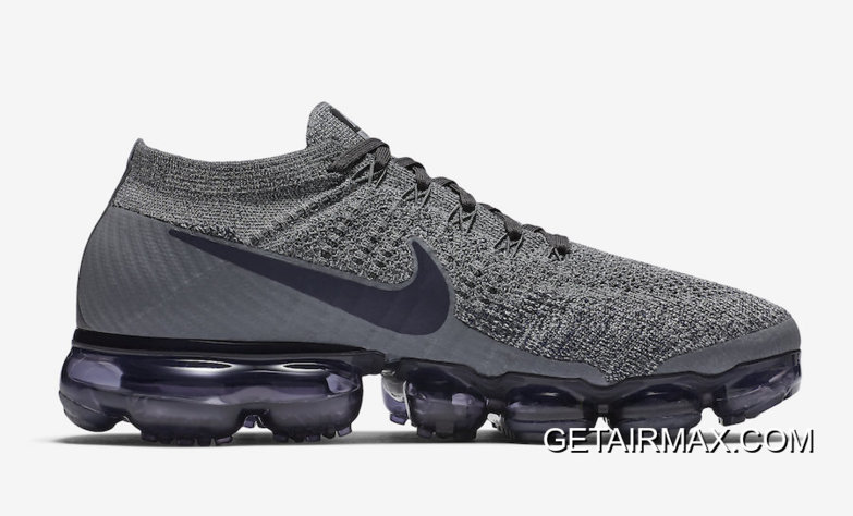 406086bb187 Nike Air VaporMax Dark Grey And Obsidian-Wolf Grey New Release ...