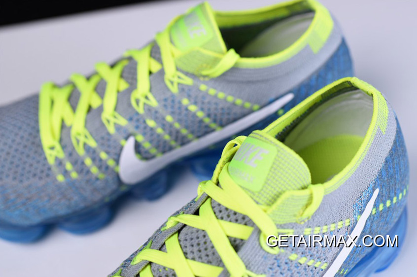 82a299a19189 Nike Air VaporMax  Sprite  Wolf Grey And White And Chlorine Blue New Year  Deals