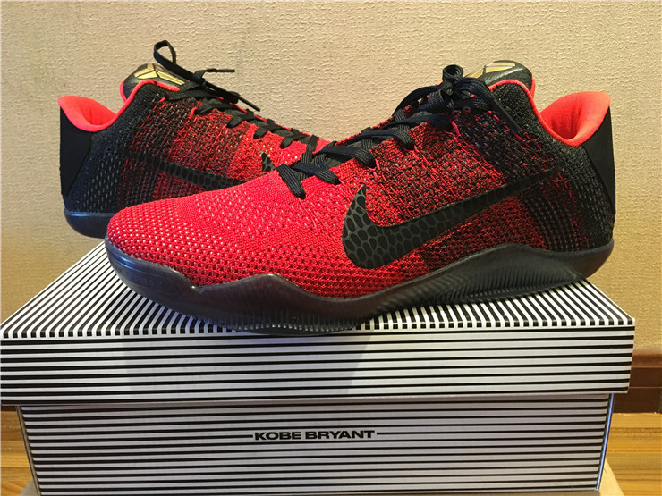 new concept 27726 89821 Nike Kobe 11  Achilles Heel  University Red And Metallic Gold-Black Outlet