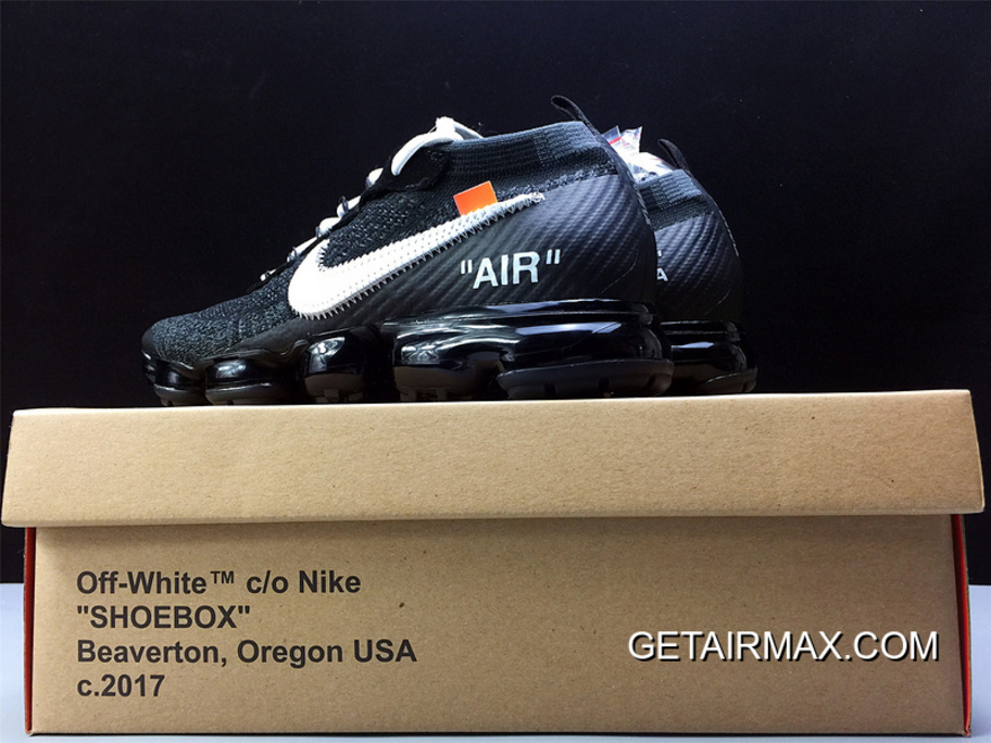 520d565a6fb Men OFF-WHITE X Nike Air VaporMax 2018 Flyknit Running Shoes SKU 112461-
